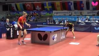 EYC 2014: Bernadett BALINT (ROU) vs. Maria PEREZ (ESP)