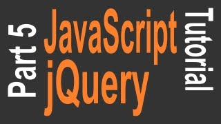 JavaScript & jQuery Tutorial for Beginners - 5 of 9 - jQuery Animation