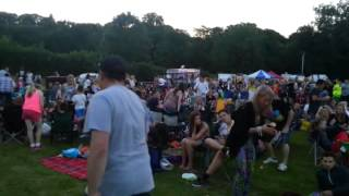 Under the Arches concert at Pontcysyllte Aqueduct