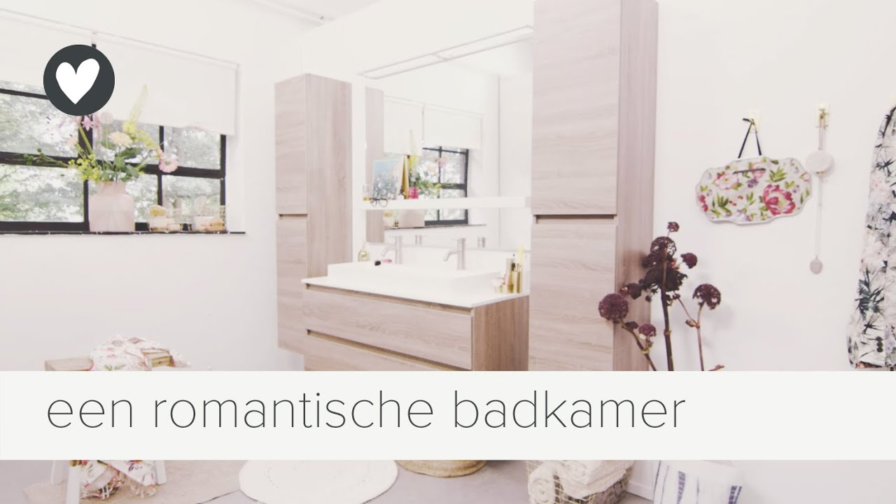 een vleugje romantiek in de badkamer | vtwonen | tips - YouTube