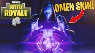 Legendary Omen Skin! GAMEPLAY! (Fortnite Battle Royale)