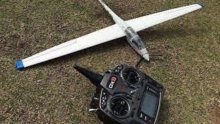 UMX ASK-21 超輕量滑翔機 起飛重量 90克 改裝2S無刷動力 20150228