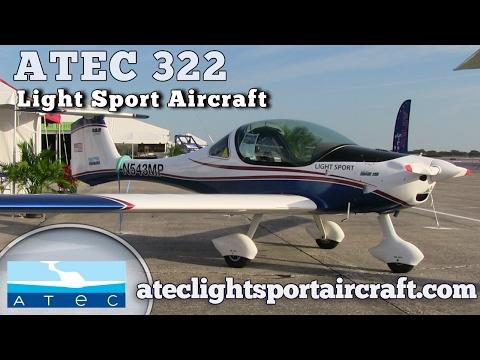 ATEC 322 light sport aircraft, ATEC ALAS LLC Rockledge Florida.