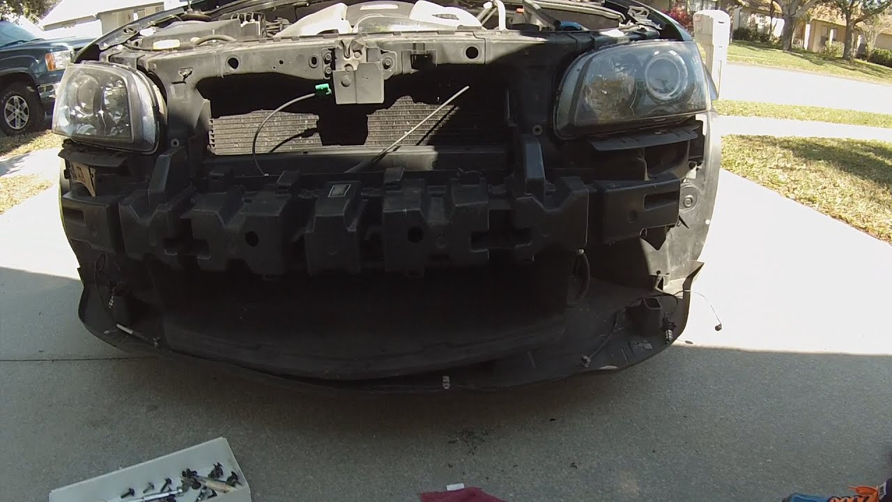 Master Mechanics G8 Gt Front Bumper Replacement Youtube