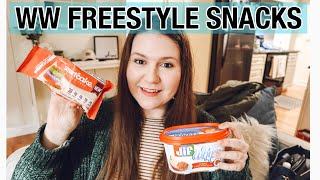 MY FAVORITE SNACKS FOR WW FREESTYLE || My Weight Loss Journey