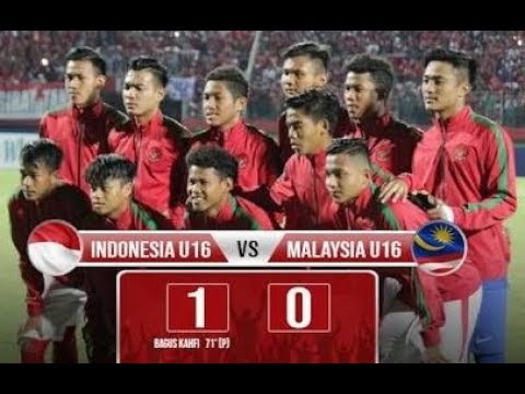 Indonesia vs Malaysia Highligts and all goal (1-0) AFF Cup U16