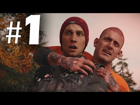 Infamous Second Son Part 1 - Hero or Infamous? Gameplay Walkthrough PS4
