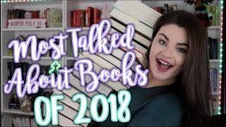 THE MOST HYPED UP BOOKS OF 2018