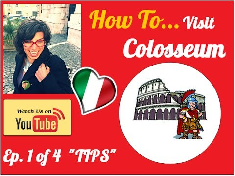 How to Visit Colosseum & Ancient Rome 1/4 - insider tips to know before you visit