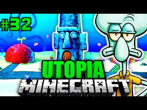THADDÄUS zieht NACH UTOPIA?! - Minecraft Utopia #032 [Deutsch/HD]