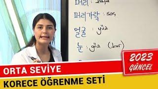 Korece Eğitim Seti (Orta Seviye) - 2019 (En Hızlı ve Gerçek Öğrenme Şekli)