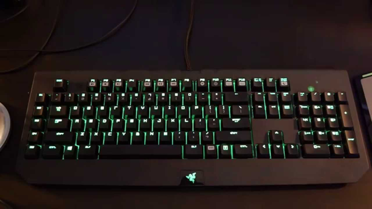 6df1e607fe7 Razer Black Widow Ultimate Stealth 2014 Keyboard FOLLOWUP and REVIEW -  YouTube