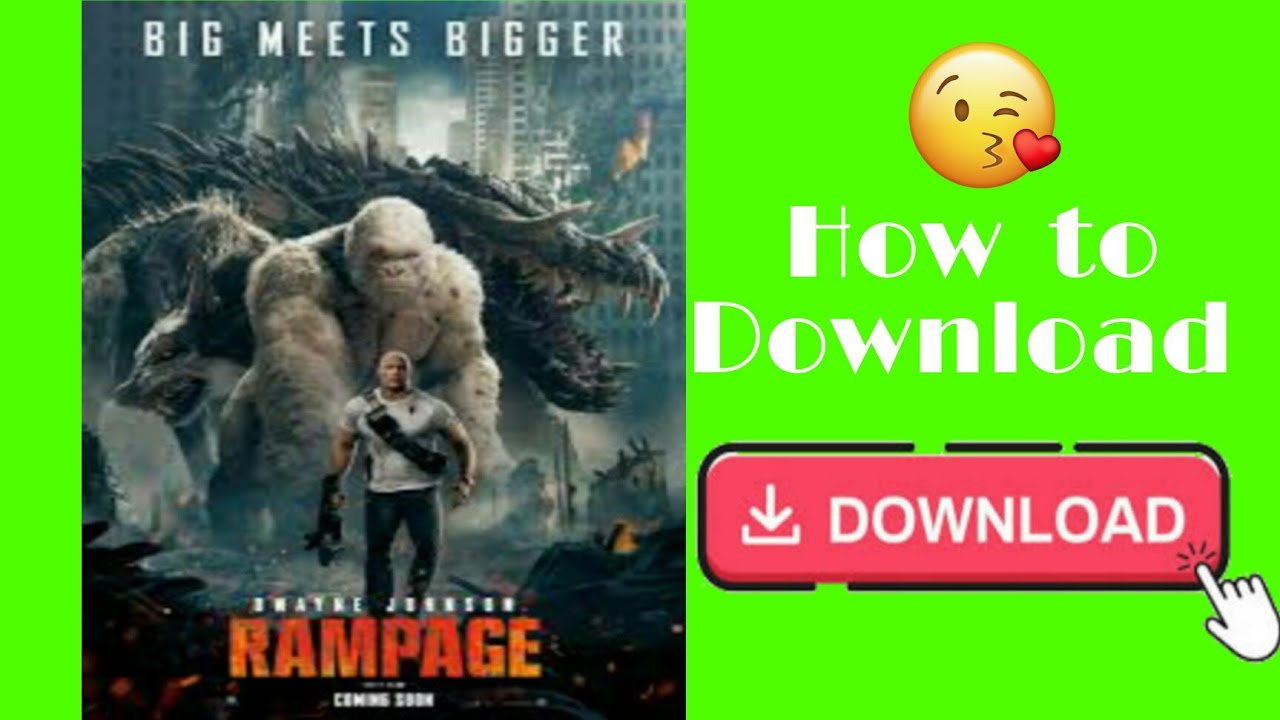 Download How to download Rampage (2018) movie in hindi || Rampage movie kaise download kare?
