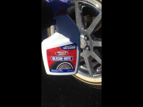 Cleaning vogue tyres part1