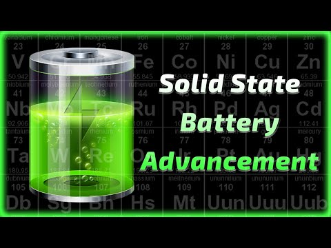 New Solid State Battery Advancement - Part One