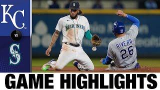 Royals vs. Mariners Game Highlights (8/26/21)