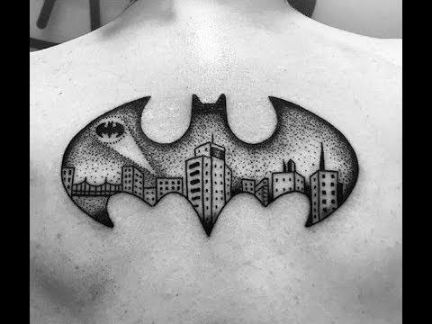 Batman Symbol Tattoo Designs For Men – Superhero Ink Ideas 2017 HD ...