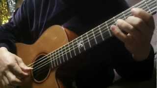 【ショートケーキ】 acoustic guitar solo. 柏木由紀ソロデビュー曲