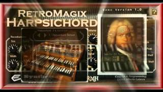 Little Prelude No. 4 in D major (JSB) Syntheway RetroMagix Virtual Harpsichord VST Plug (Win MacOSX)