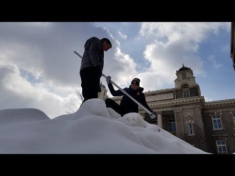 The Science Of Snowfall At Syracuse University