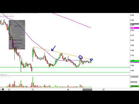 Northern Dynasty Minerals Ltd - NAK Stock Chart Technical Analysis for 03-01-17