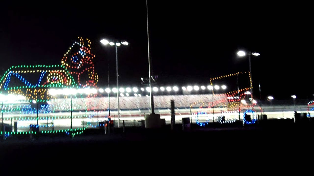 Glittering Lights Las Vegas Motor Speedway Tour 2 11 14 13 Youtube