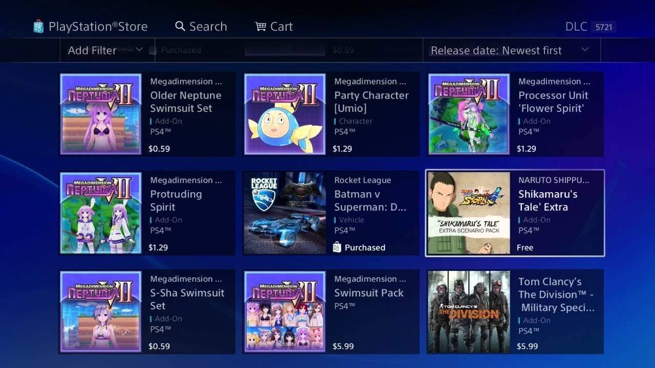 PSDLCIndex: PlayStation Store PS4 DLC Indexer by