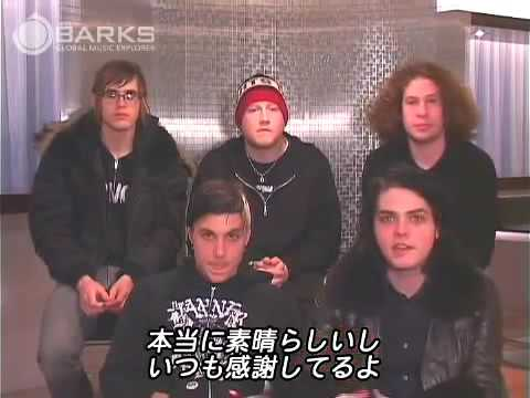My Chemical Romance Revenge Interview HQ