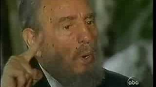 20/20 Fidel Castro interview - Barbara Walters [5of6]