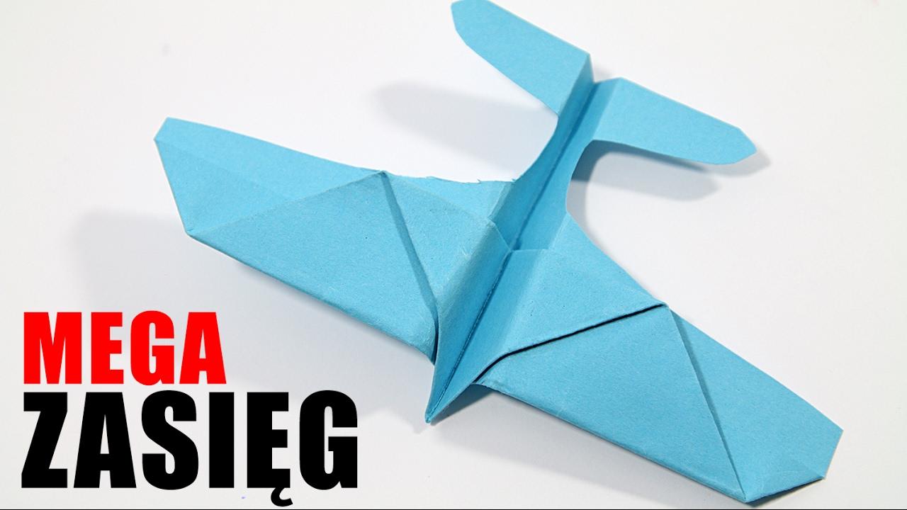 Jak zobić najlepszy samolot z papieru