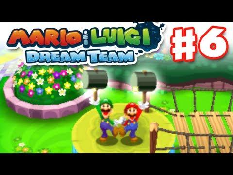 Mario & Luigi: Dream Team - Gameplay Walkthrough Part 6 - Hammer Time! (Nintendo 3DS)