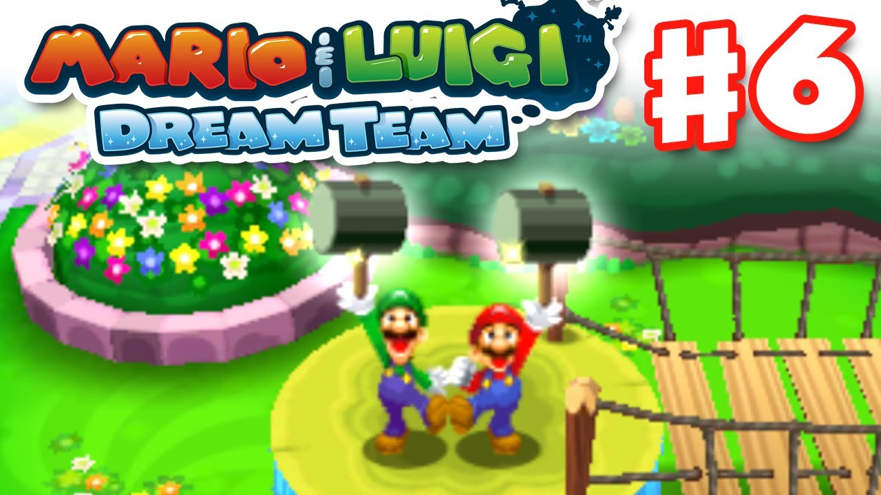 Mario Luigi Dream Team Gameplay Walkthrough Part 6 Hammer Time Nintendo 3ds