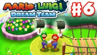 Mario & Luigi: Dream Team - Gameplay Walkthrough Part 6 - Hammer Time! (Nintendo 3DS)