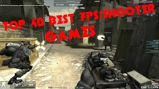 TOP 40 BEST FPS/SHOOTER GAMES FOR LOW SPEC PC (GMA950)