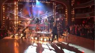 Julianne Hough, Diego Boneta & Mary J. Blige (Rock Of Ages Cast On DWTS) 2012
