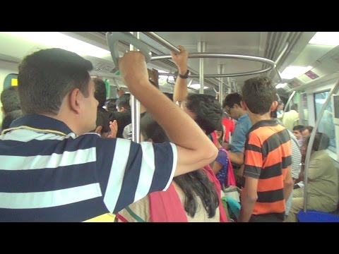 Mumbai Metro - Now Super Duper Hit with Commuters - Full Journey Coverage