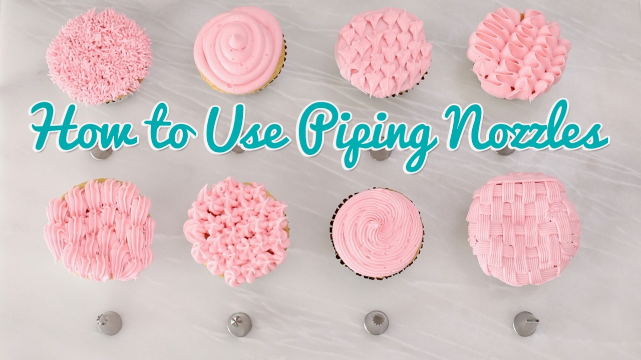Types Piping Cakes