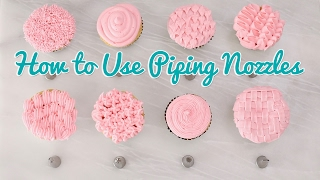 How to Use Piping Nozzles - Gemma's Bold Baking Basics Ep 35