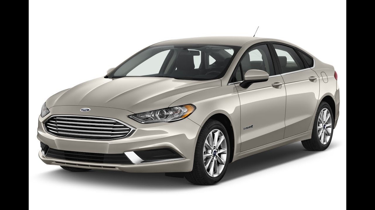 2017 Ford Fusion Se Hybrid White Gold Quick Walk Around