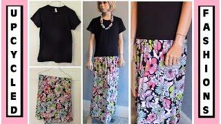 DIY T-Shirt Dress - Sew Easy - Upcycled Fashions Ep. 4