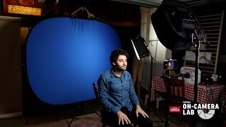 Virtual On-Camera Lab Tech Tips: Two-Light Setup