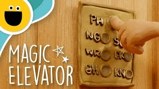 The Magic Letter Elevator (Sesame Studios)