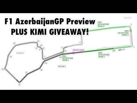 MP271 - F1 Azerbaijan GP Preview & Kimi Prize Giveaway