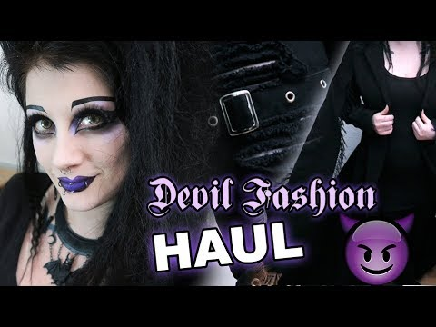 Devil Fashion Try-On!   Black Friday