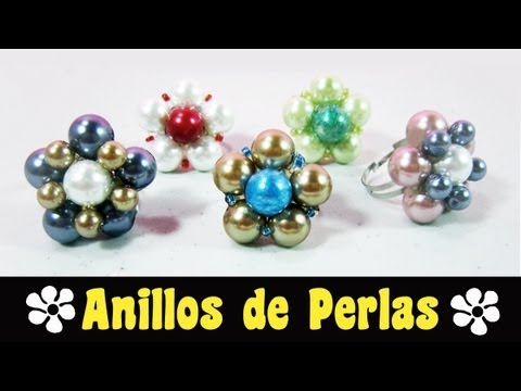 Episodio 621, Cómo hacer anillos de perlas , manualidadesconninos , YouTube