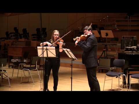 Béla Bartók - Duets for 2 Violins |...