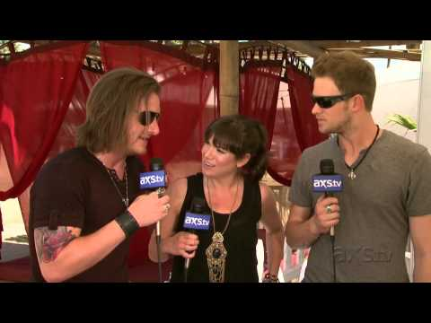 Florida Georgia Line check in with @AXSTV at Stagecoach