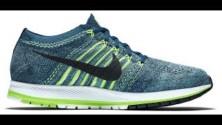 estar impresionado deslealtad damnificados  Nike Zoom Flyknit Streak 6 Running Shoes Review/Unboxing style# 835994 400  - YouTube