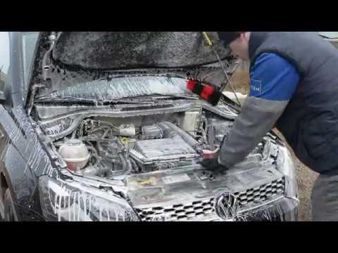 Мойка двигателя vw polo sedan 1,4 TSI