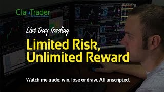 Live Day Trading - Limited Risk, Unlimited Reward